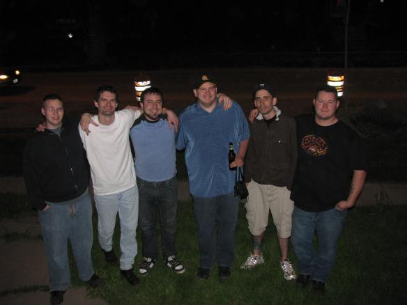 Bill, Brandon, Jeff, Me, Tyson and Travis - May 2009