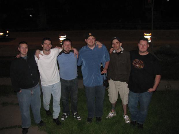 Bill, Brandon, Jeff, Me, Tyson and Travis - May 2009