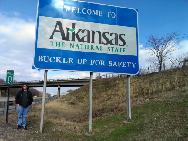 """Did not know that Arkansas was known as """"The Natural State"""""""