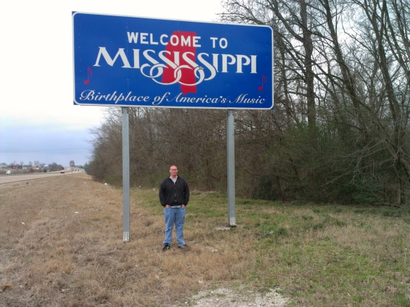 Spent a lot of time in Mississippi but didn't really feel like it