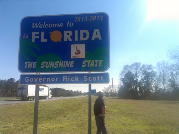 """First time ever in Florida. 500 years """"old"""" is kind of amazing"""