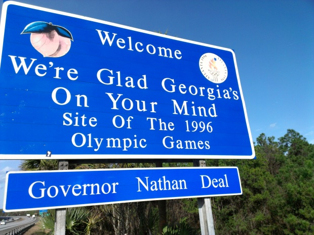 The state signs are getting a bit harder to get. We might stop taking them soon