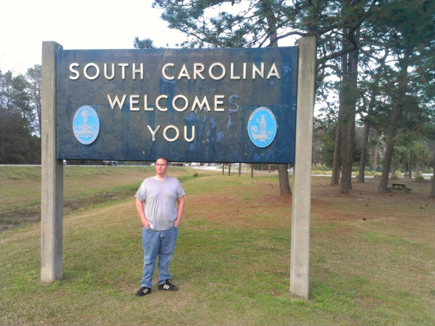 First time I've been to South Carolina since passing through the airport a few years ago