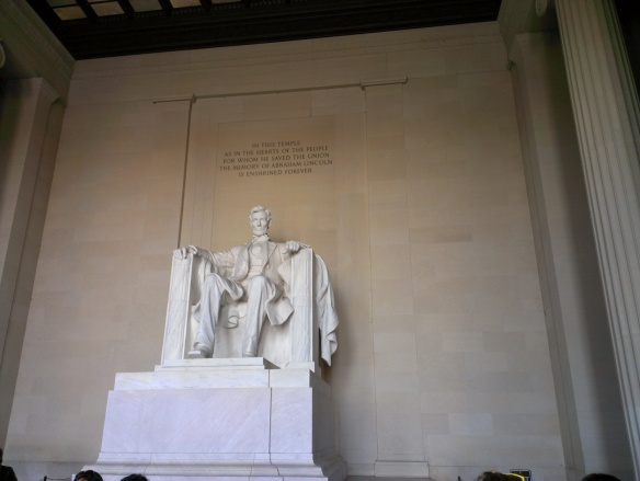 Lincoln Memorial still one of my favorite places to go.