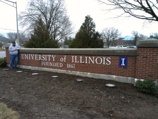 The closer we get to summer, to closer I get to just going to the University of Illinois for grad school